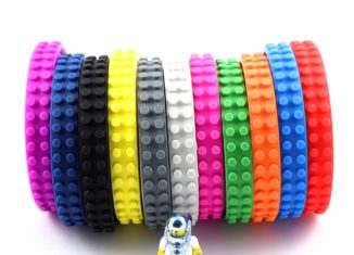 Multicolor Duct Adhesive Lego Brick Tape. 11 Colors Set.