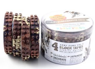 lego tapes camo army colour brown
