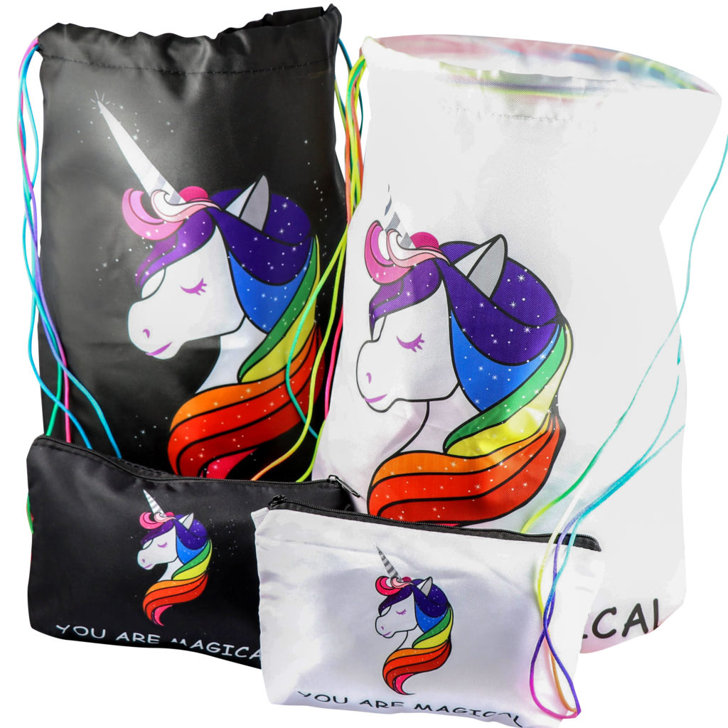 unicorn gifts party bags make up bag